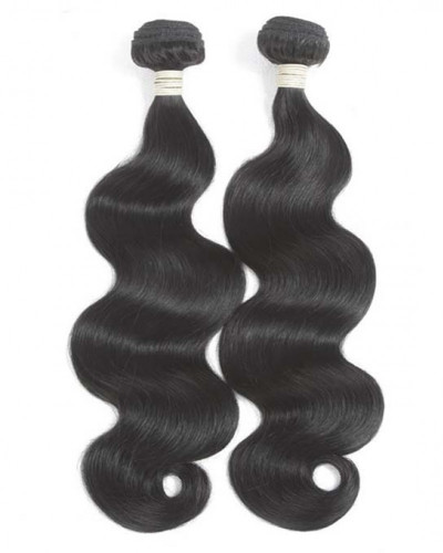 Body Wave Brazilian Virgin Hair 1 Piece Human Hair Extensions
