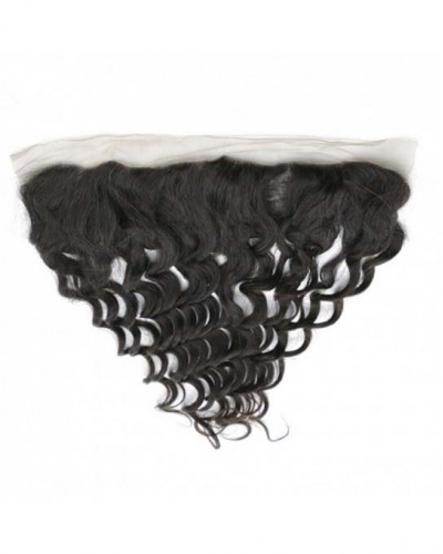 13x4 Lace Frontal Natural Color Loose Wave Brazilian Virgin Hair