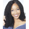 Natural Looking Pre-plucked Kinky Curly 130% Density Lace Front Wig