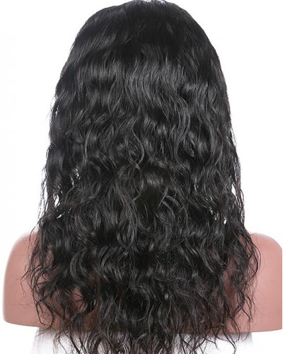Hot Sale Natural Wave 100% Brazilian Remy Hair Lace Front Wig