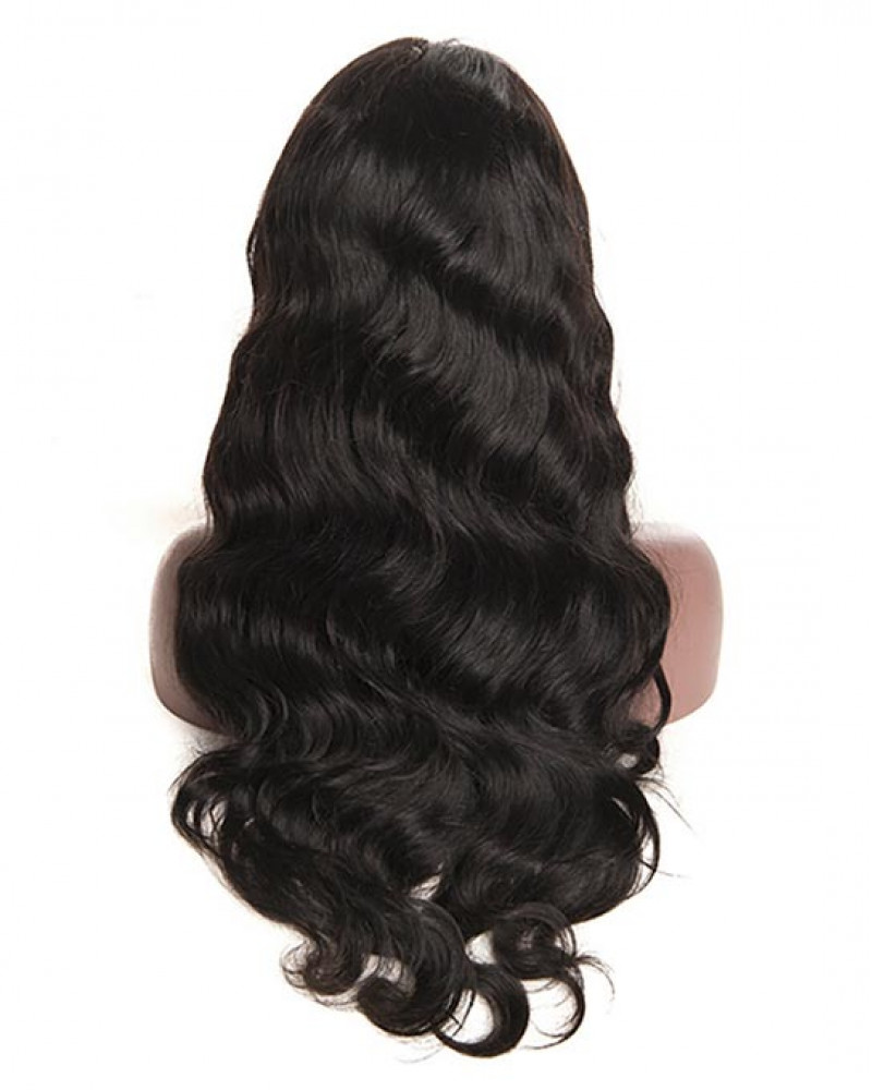 Pre-plucked Body Wave Brazilian Virgin Hair Lace Front Wigs