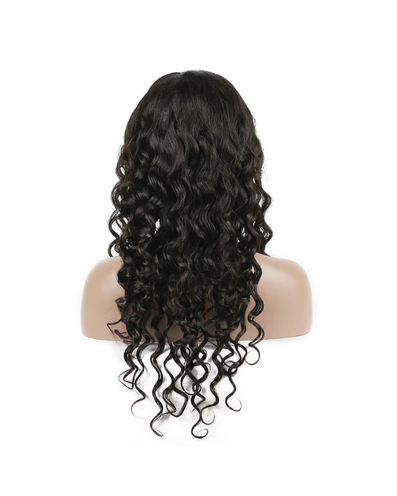 Pre-plucked 360 Lace Wig Natural Wave Brazilian Remy Hair