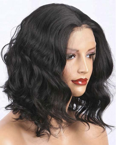 Pre-Plucked Body Wave Bob Style 360 Lace Wigs