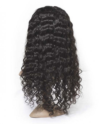 Hot Sale Pre-Plucked Deep Wave 360 Lace Wigs