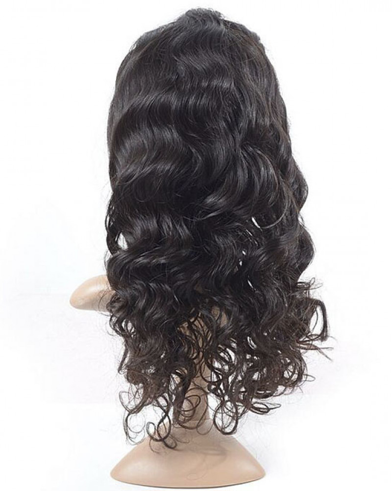 New Arrival Loose Wave 150% Density Human Hair 360 Lace Wigs