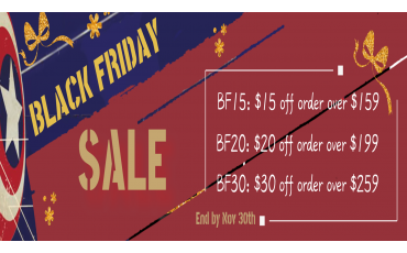 Black Friday Sale is Coming Now!