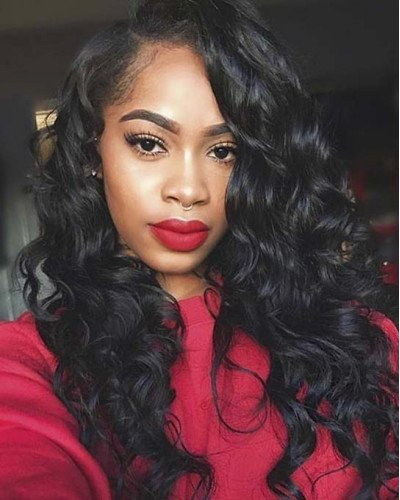 Pre-Plucked Full Lace Wig Body Wave 130% density Indian Virgin Hair