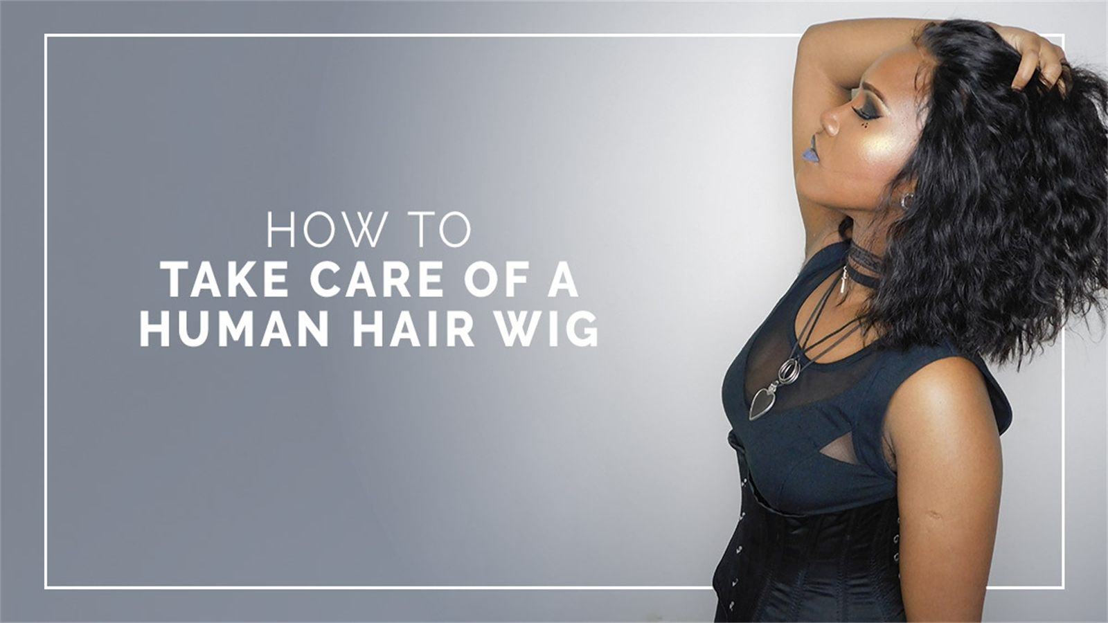 How often should we wash a human hair wig?